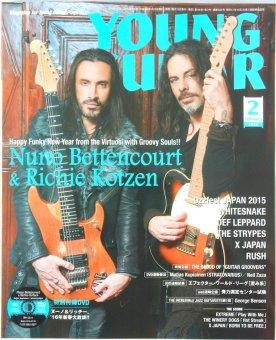 Import Magazine From Japan Shinko Music Young Guitar Feb 2016