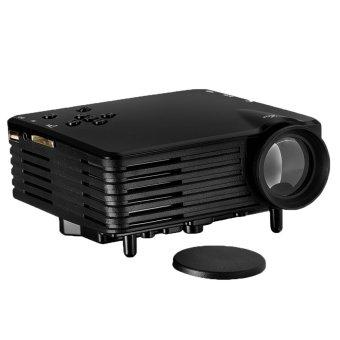 JIANGYUYAN Vivibright Mini Portable 100 Lumens Digital LED Projector(Black, UK Plug) (Intl)
