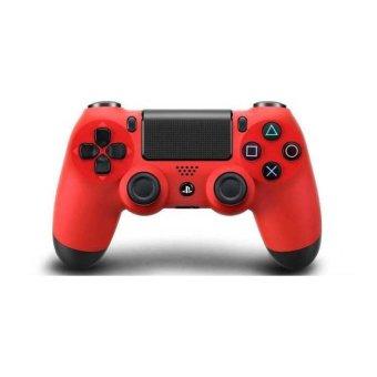 Sony Stick PS4 Wireless New Original - Merah