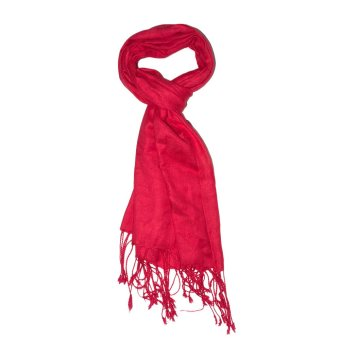 Mehar Casual Shyla Scarves Pashmina Coral Red
