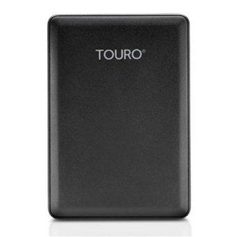 Harddisk Eksternal 2.5inc Hitachi Touro 500Gb - USB 3.0 - Hitam