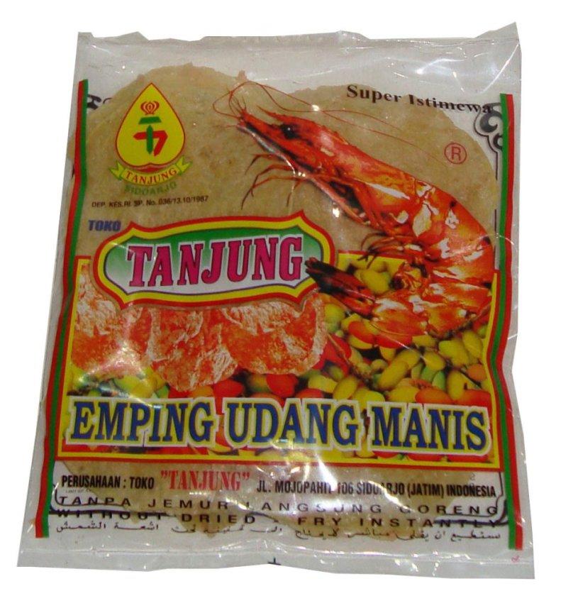 harga Tanjung - Emping Udang Manis -160 gr Lazada.co.id
