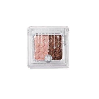 Holika Holika Jewel-Light Two Color Eyes - 01 Pink Brown