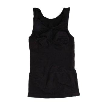 Beauty Slimming Body Shaper Tummy Trimmer Underwear Vest Black Colour (Intl)