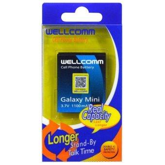 Wellcomm Battery Double IC Untuk Samsung Galaxy Mini terpercaya
