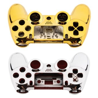 Allwin Full Housing Shell Case Skin Button Set For Playstation 4 PS4 Controller glod