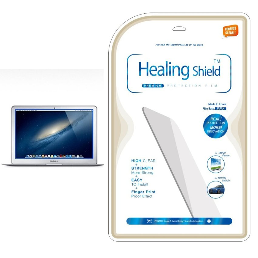 HealingShield Apple Macbook Air 13 High Clear Type Screen Protector Front 1pc