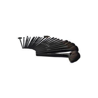Makeup Brush Kit 24-piece Set (Black) - Intl