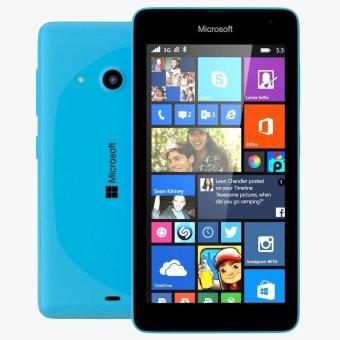Microsoft Lumia 535 Dual SIM - 8GB - Biru Muda