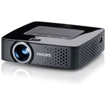 Philips PicoPix PPX3614 Wireless Mini Projector - DLP - 4GB - Hitam