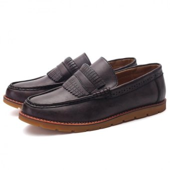 England new fashion casual and comfortable small shoes(brown) - Intl