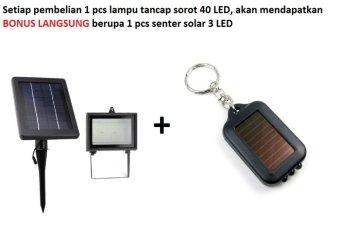 harga Lampu Sorot Lampu Tembak 40 Led Solar Power Super Bright - Kuning Hemat Irit Listrik Hemat Biaya Cocok Untuk Taman Halaman Pekarangan Kolam Renang Kolam Air Plang Nama Papan Iklan Lazada.co.id