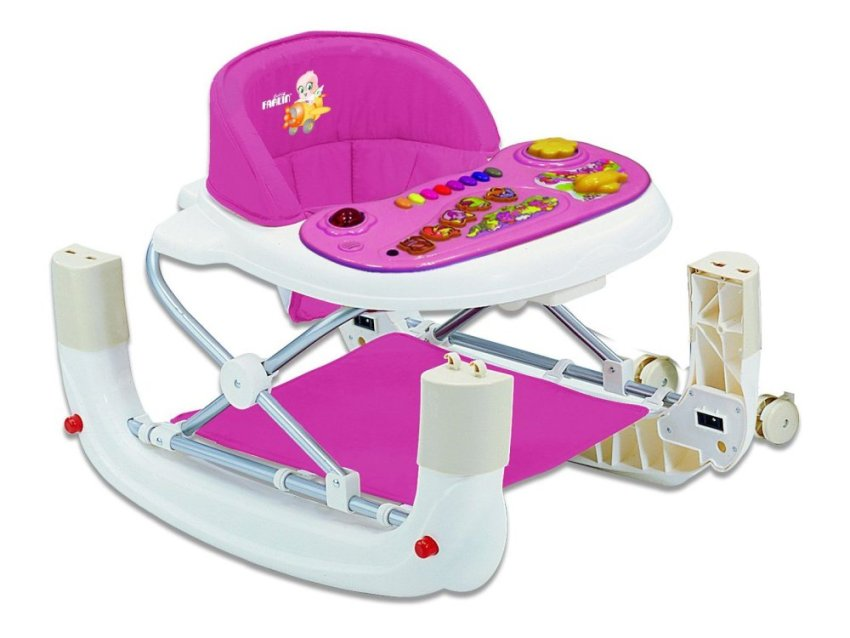 harga Farlin Baby Walker & Rocking Chair - Red Lazada.co.id