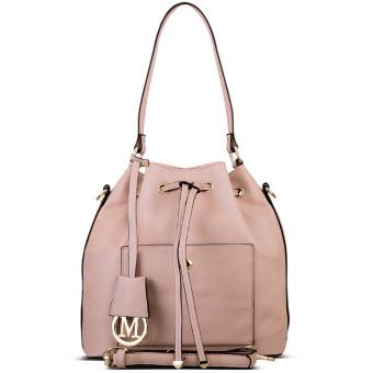 harga Nana Blanche Michelle Tas Kerja Premium / Tas Sandang / Tas Selempang dan Tas Santai Wanita - YH2514 Pink Muda Lazada.co.id