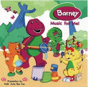 Sing Your Name Personalized Music CD - Barney Music For Me!