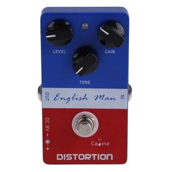 MEGA Caline CP-14 Aluminum Alloy English Man Distortion Guitar Effects Pedal (Intl)