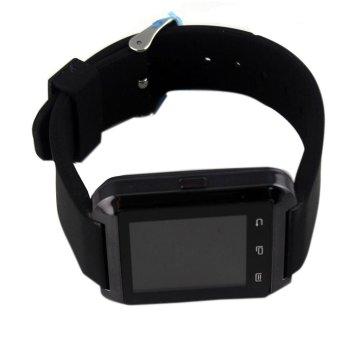 Fashion design U-WatchSmartwatchwith Bluetooth(Black) (Intl)
