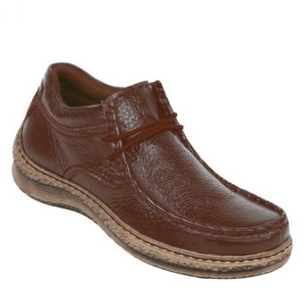 harga Zeintin Sepatu Formal Pria - GS8286 - Coklat Lazada.co.id