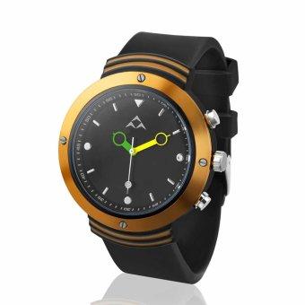 REGU Digi-free Bluetooth 4.0 Smart Watch Sport Pedometer for Android and IOS Phone (Orange) (Intl)