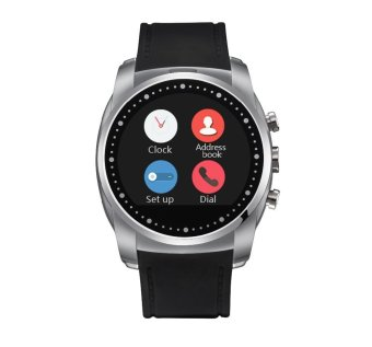 Smart watch A8 with IPS HD GPRS SIM TF Card Supported Wristwatch(silver) (Intl)