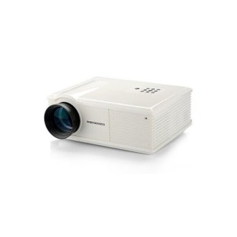 Gigxongadgets 3500 Lumens Panel Projector (White) (Intl)