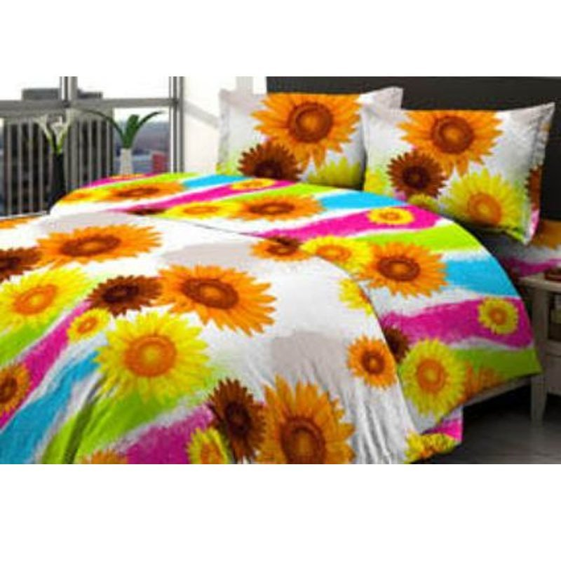 harga Star Fortuna Flower Sprei - Corak Bunga - Kuning Lazada.co.id