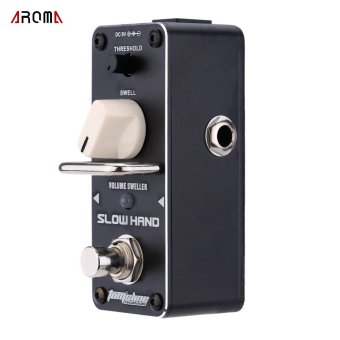 AROMA ASH-3 Slow Hand Volume Sweller Electric Guitar Effect Pedal Mini Single Effect with True Bypass (Intl)