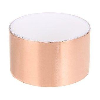 protable Electronics conductive 5CM*2M Copper Foil Tape Roll EMI Shielding for Guitar adhesive Anti-Tear - Intl