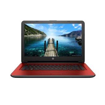 HP 14-ac124TX - Intel Core i3-5005 - 2GB RAM - VGA - DOS - Merah