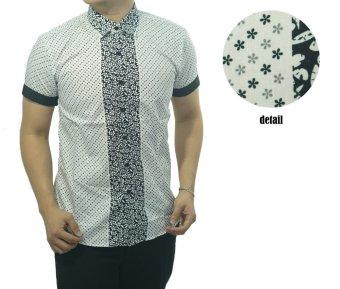harga Herman Batik Kemeja Batik Slimfit S955B Baju Fashion Pria Muslim Koko Jeans Lazada.co