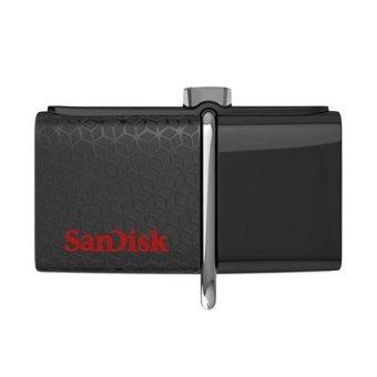 Sandisk OTG Ultra Dual Drive USB 3.0 - 32 GB - Hitam