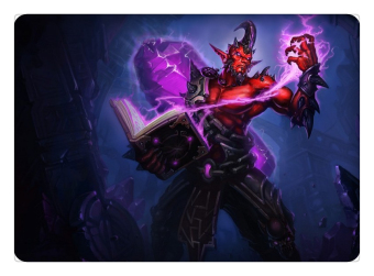 Dark Crystal Ryze mouse pad lol pad mouse League laptop mousepad Fashion gaming padmouse gamer of Legends keyboard mouse mats - INTL