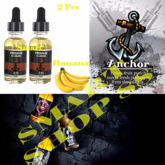 Smart Premium E-Liquid Rokok Elektrik - Banana(Yellow)