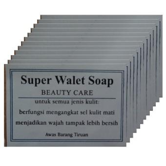 Walet- Sabun Walet Super- Merawat Kulit - 12pcs