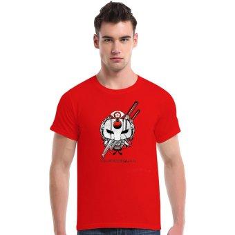 Suicide Squad Katana Cherry Blossoms Cotton Soft Men Short T-Shirt (Red) - Intl