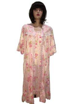 harga Diana Kimono Lingerie Bunga - Pink Lazada.co.id