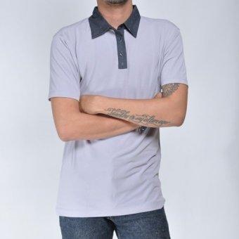 Houseofcuff kaos polo / Polo Shirt GREY M