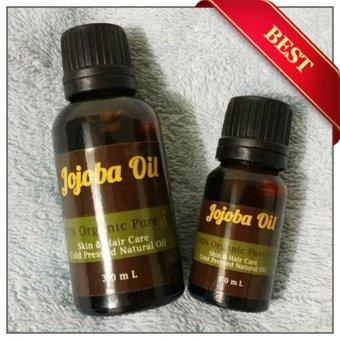 Natural Hut - Jojoba Oil Murni Untuk Rambut Dan Kulit - 10ml