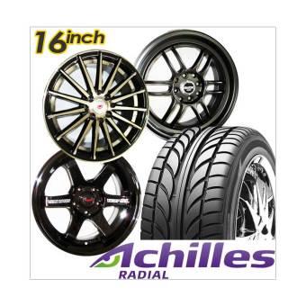 harga Paket Cicilan 4 pcs Achilles Velg Racing ring 16 inch + 4 Ban Mobil - FREE ONGKIR JABODETABEK Lazada.co.id