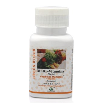 Green World Suplemen Penambah Vitamin Tubuh Orang Dewasa - Multi-Vitamin