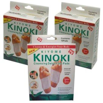 harga Kinoki Koyo Detox Putih - Isi 30pads Lazada.co.id