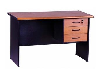 harga VIP Meja kantor 1/2 Biro Laci MV 301 A ( Teakwood ) Lazada.co.id