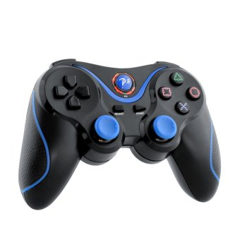 Wireless Game Bluetooth Joystick Controller For Sony PS3 Playstation 3 laptop Doubleshock Black (Intl)