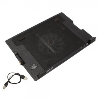 USB Notebook Computer Cooling Pad Quiet Fans 9-17