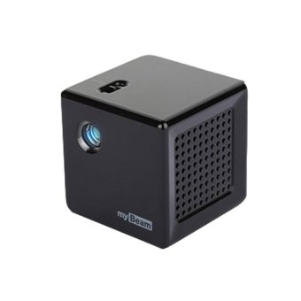 LG U+ My Beam Mini USB Video Home Theater Projector Beamer Projetor (Black) (Intl)