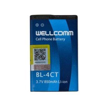 Wellcomm Battery Nokia BL-4CT 850 mAh - Biru terpercaya