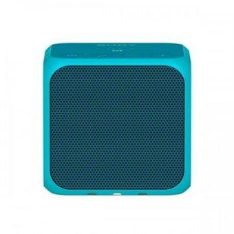 Sony SRS-X11 Portable Bluetooth Wireless Speaker - Biru