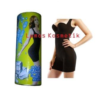 Bamboo Sliming Suit Kaleng Black Size S-M