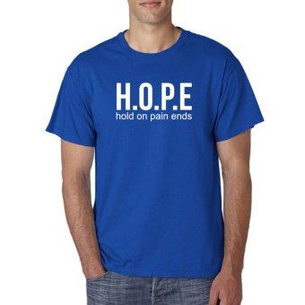Indoclothing T Shirt Hope - Biru