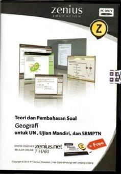 Zenius Set CD SMA Geografi